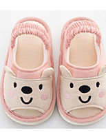 cheap -Girls' Boys' Shoes Fabric Winter Comfort Slippers & Flip-Flops for Casual Light Grey Blue Pink