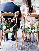 abordables -Mariage En bois Décorations de Mariage Thème jardin / Thème classique Toutes les Saisons