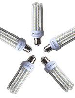preiswerte -5 Stück 15W 1200lm E26 / E27 LED Mais-Birnen T 72 LED-Perlen SMD 2835 Warmes Weiß 220-240V
