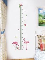 Недорогие -Декоративные наклейки на стены Линейка роста - Наклейки для животных Животные Гостиная Спальня Ванная комната Кухня Столовая Кабинет /