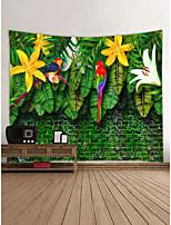 cheap -Garden Theme Animals Wall Decor 100% Polyester Contemporary Modern Wall Art, Wall Tapestries Decoration