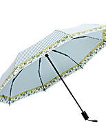 cheap -boy® Fabric All Sunny and Rainy / Wind Proof / New Folding Umbrella