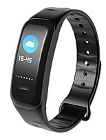 cheap -Smart Bracelet YY-C18 for iOS / Android Touch Screen / Heart Rate Monitor / Water Resistant / Water Proof Pedometer / Activity Tracker /