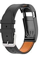 cheap -Watch Band for Fitbit Charge HR Fitbit Sport Band Steel Genuine Leather Wrist Strap
