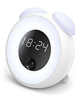 economico -BRELONG® 1pc Smart Night Light Bianco caldo USB Smart Sensore a infrarossi Induzione intelligente capezzale