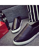 Недорогие -Муж. обувь Полотно Весна Осень Удобная обувь Мокасины и Свитер для Повседневные Белый Черный
