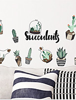 cheap -Wall Decal Decorative Wall Stickers - Plane Wall Stickers Landscape Floral / Botanical Re-Positionable Removable