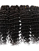 cheap -Brazilian Hair Wavy One Pack Solution 4 Bundles Human Hair Weaves Extention / Hot Sale Natural Black Human Hair Extensions All