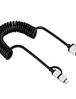 Недорогие -Подсветка Адаптер USB-кабеля Быстрая зарядка Высокая скорость Кабель Назначение iPhone 180cm ПВХ