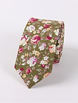 cheap -Men's Vintage Party Necktie - Floral