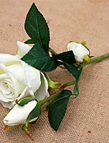 cheap -Artificial Flowers 1 Vintage / European Roses Tabletop Flower / Not Included
