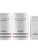 Недорогие -V027G-1 Беспроводное От одного до двух дверных звонков Дзынь-дзынь / Музыка Регулируемый звук Крепеж на поверхности дверной звонок