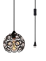 cheap -CXYlight Pendant Light Downlight - Crystal, Retro / Vintage Country, 110-120V 220-240V Bulb Not Included