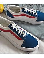 Недорогие -Муж. / Универсальные обувь Полотно Весна / Осень Удобная обувь Кеды Белый / синий