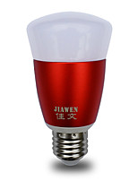 cheap -JIAWEN 1pc 6W 480lm E26 / E27 LED Smart Bulbs 30 LED Beads SMD 3528 Smart Dimmable APP Control Color-changing 85-265V