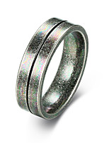 cheap -Men's Band Ring - Fashion 7 / 8 / 9 Gray For Street / Work
