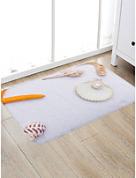 cheap -Creative Sports & Outdoors Modern Doormats Area Rugs Bath Mats Flannelette, Superior Quality Rectangle Graphic Still Life Rug