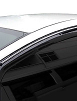 cheap -4pcs Car Deflectors & Shields Transparent Buckle Type / Paste Type For Car Window For Honda Fit 2008 / 2007 / 2006