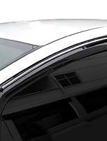 abordables -4pcs Voiture Déflecteurs et boucliers transparent Type de boucle / Type de pâte For Fenêtre de voiture For Honda Fit 2008 / 2007 / 2006