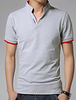 cheap -Men's Street chic Polo - Solid Colored