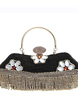 cheap -Women's Bags PU Evening Bag Crystals for Wedding / Event / Party Gold / Black