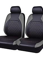 baratos -Capas de assento Cinzento PU Leather Tecido Negócio for Universal Universal