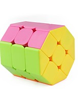 cheap -Rubik's Cube 1 PCS Shengshou D0924 Octagonal Column 3*3*3 Smooth Speed Cube Magic Cube Puzzle Cube Glossy Fashion Other Gift Unisex