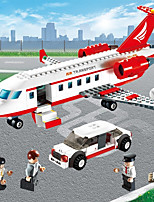 cheap -Airplane Building Blocks 334pcs Exquisite Classic & Timeless Toy Plane Toy Gift