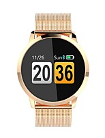 cheap -Smartwatch Q8 for iOS / Android Heart Rate Monitor / Calories Burned / Exercise Record Pedometer / Sleep Tracker / Find My Device