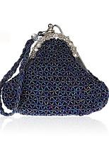 preiswerte -Damen Taschen Abendtasche Perlenstickerei Kristall Verzierung für Hochzeit Veranstaltung / Fest Ganzjährig Blau Gold Grau Purpur Armeegrün