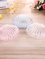 cheap -Shell Plastic Resin Favor Holder with Metallic Favor Boxes - 12
