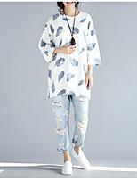 cheap -Women's Cute Active T-shirt - Floral