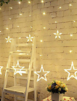 cheap -2m String Lights 138 LEDs Warm White Cold White Multi Color Waterproof Decorative 220-240V 1pc