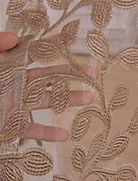 abordables -Rideaux Tentures Salle de séjour Géométrique Coton / Polyester Imprimé