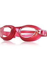 Недорогие -плавательные очки плавательные очки Регулируется / Выдвижной Плавание Поликарбонат Поликарбонат черный синий фуксия красный черный синий
