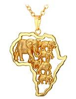 preiswerte -Herrn Damen Anhängerketten - Modisch Irregulär Modische Halsketten Für Alltag