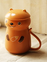 Недорогие -Drinkware Фарфор Кружка Теплоизолированные Милые 1pcs