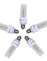 preiswerte -5 Stück 9W 720lm E26 / E27 LED Mais-Birnen T 48 LED-Perlen SMD 2835 Kühles Weiß 220-240V