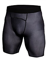 cheap -Men's Running Tight Shorts Shorts - Sports Exercise & Fitness, Outdoor Exercise, Walking Lightweight, Fast Dry, Anatomic Design strenchy