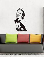 abordables -Stickers muraux Autocollants muraux décoratifs - Stickers muraux Paysage Repositionable Amovible