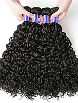 cheap -Peruvian Hair Kinky Curly Curly Human Hair Weaves 6-Pack Soft Coloring 100% Virgin Fashion Hot Sale Natural Color Hair Weaves Human Hair
