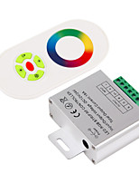 cheap -1pc 12V 24V Smart WiFi Remote Controlled RF Wireless RGB Controller Aluminum Plastic for RGB LED Strip Light