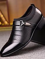 abordables -Homme Chaussures PU de microfibre synthétique Printemps Automne Confort Mocassins et Chaussons+D6148 pour Décontracté Blanc Noir Jaune