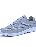 cheap -Men's Shoes Tulle Spring / Summer Comfort Sneakers Black / Gray / Blue