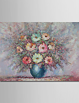 cheap -Oil Painting Hand Painted - Abstract Still Life Modern Canvas