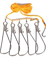 cheap -Fishing Tools Fishing Accessories Easy to Use Wearproof Braided Rope Stainless PE Jigging Sea Fishing Fly Fishing Bait Casting Ice