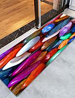 baratos -Tapetes para Porta / Tapetes Anti-Derrapantes / Os tapetes da área Esporte & lazer / Regional Flanela, Retângular Qualidade superior