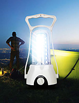 cheap -Camping Light Rechargeable Lanterns & Tent Lights LED 1 Mode Adjustable / Durable Camping / Hiking / Caving / Everyday Use / Fishing White
