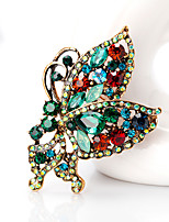 cheap -Women's Butterfly Brooches - Animals / Fashion / European Dark Green Brooch For Daily / Office & Career