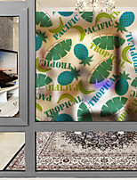 cheap -Window Film & Stickers Decoration Contemporary 3D Print PVC Window Sticker Matte